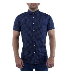 Stallion Casual Navy Shirts