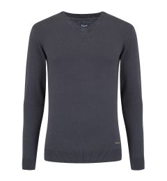 V Neck Dark Grey Jumper