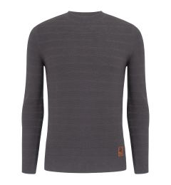Dark Grey Stripe Jumper