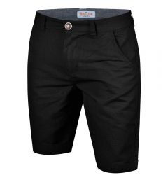 Summer Chino Shorts-Black-30
