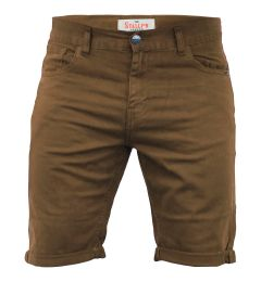 Stallion Casual Shorts-Brown-30