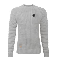 Light Grey Crew Neck Jumper