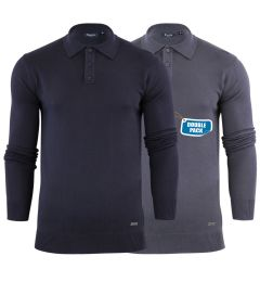 Stallion Knitted Polo (2 Pack)