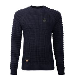Navy Crew Neck Jumper