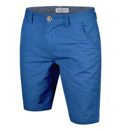 Summer Chino Shorts-Royal Blue-30