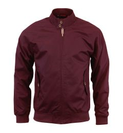 Wine Harrington Jacket