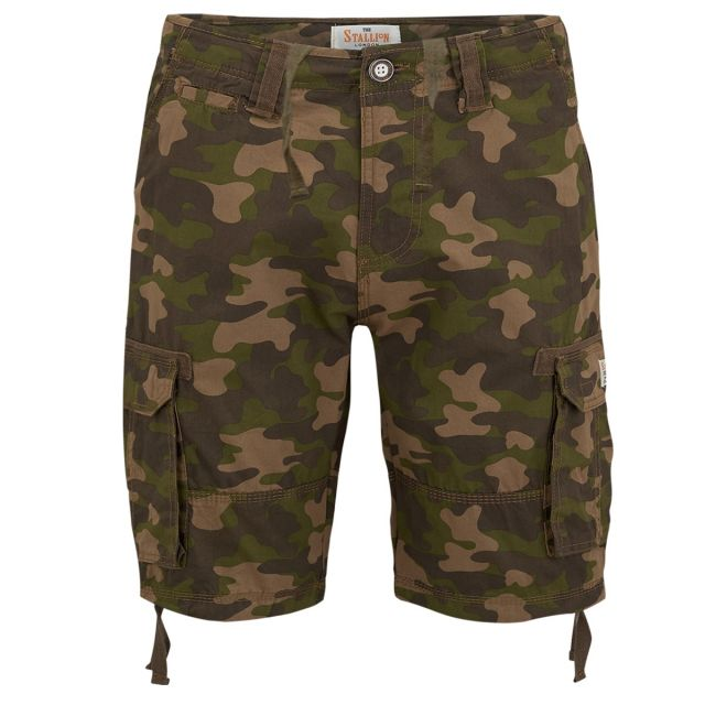 Army Camo Casual Shorts